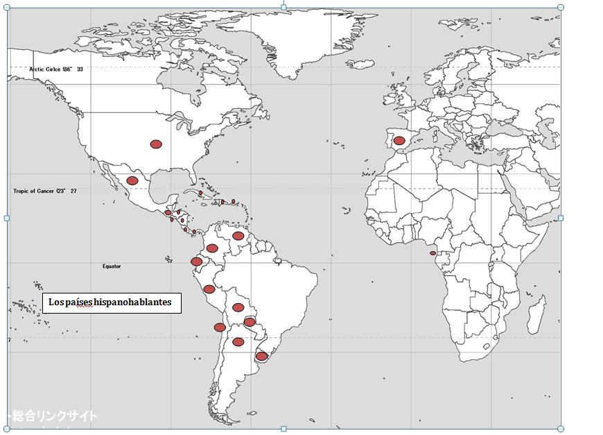 Mapa De Los Paises: Los Países Hispanohablantes – Mapa Para Practicar